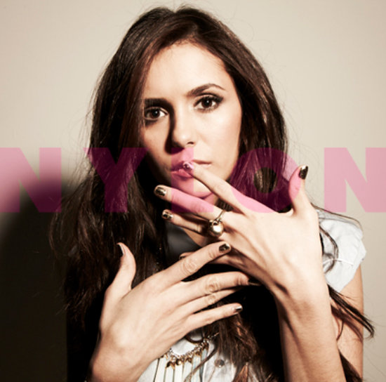 Vampire Diaries Star Nina Dobrev in Nylon February 2012