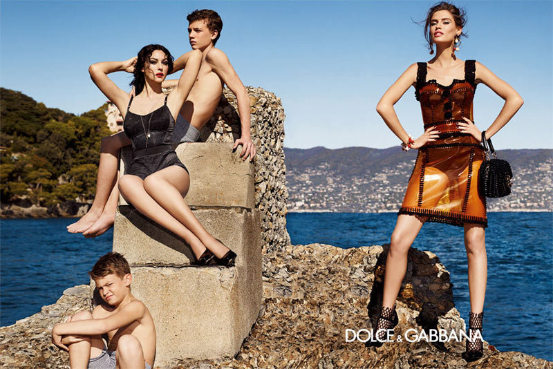 Bianca Balti for Dolce & Gabbana, Spring 2012 Source: Fashion Gone Rogue
