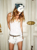 Erin Wasson gets playful in the Zadig & Voltaire Spring '12 ads. Source: Fashion Gone Rogue