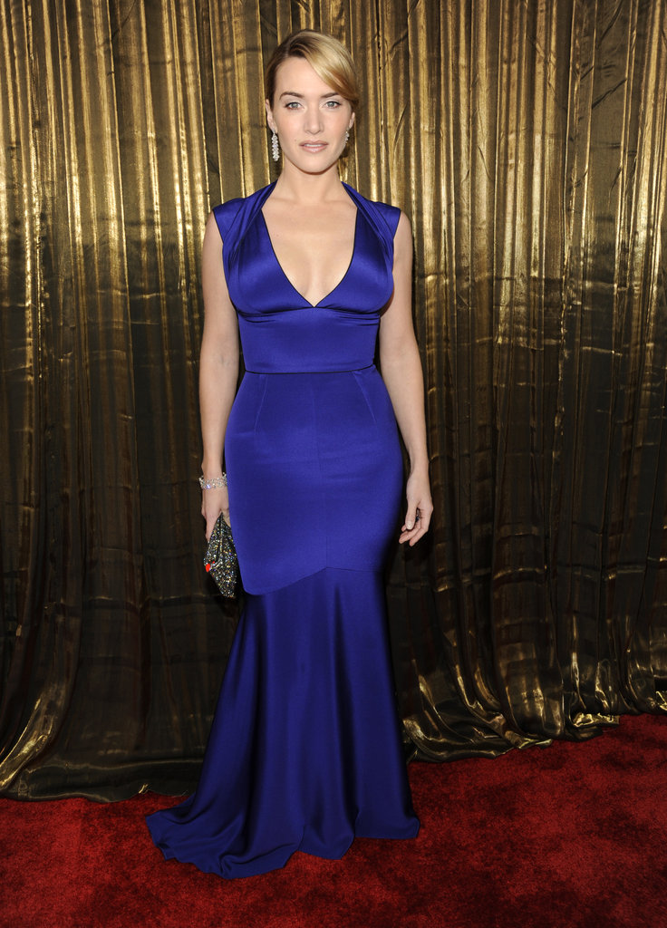 Kate Winslet vamped it up in a body-con Narciso Rodriguez gown in '09.