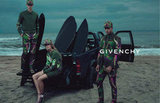 Cool verdant looks on a dreary beach day in the Givenchy Spring '12 campaign. Source: Fashion Gone Rogue