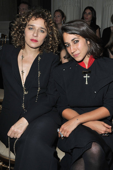 Valeria Golino &amp; Delfina Delettrez Fendi