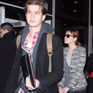 Emma Stone and Andrew Garfield Pictures in NYC