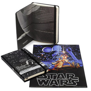 Star Wars, Pac-Man, and Lego Moleskine