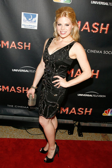 Megan Hilty attended the NBC Entertainment & Cinema Society with Volvo premiere of Smash at the Metropolitan Museum of Art.