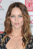 Vanessa Paradis attended the 10th annual Sidaction gala in Paris.