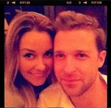 Lauren Conrad reunited with her Laguna Beach castmate Trey Phillips. Source: Twitter user laurenconrad