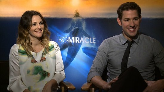 "John Krasinski on Big Miracle: ""Who Doesn't Love Drew Barrymore?"""