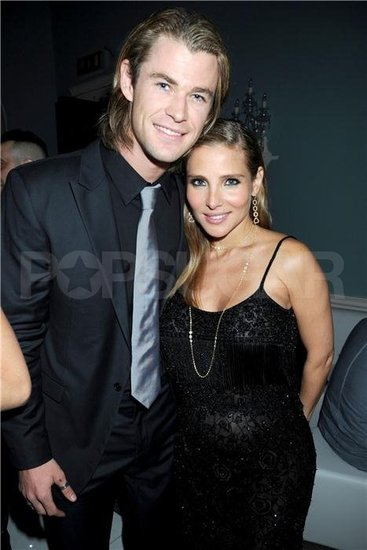 Chris Hemsworth and Elsa Pataky celebrate Lisa Snowdon's birthday.