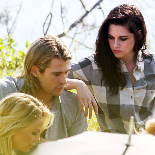 Kristen Stewart and Chris Hemsworth Photo Shoot