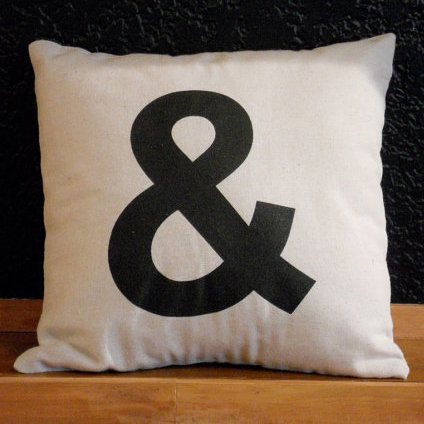 Typography Home Accents