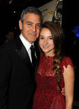 George Clooney Cozies Up to Costar Shailene Woodley Instead of Stacy at DGA