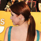 Ellie Kemper's Haute Couture-Inspired Ponytail