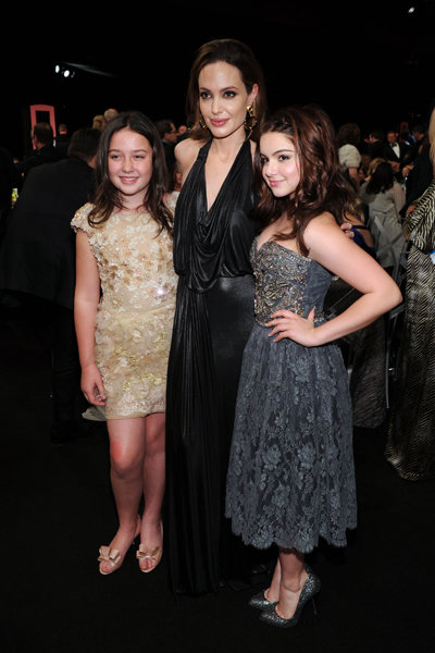 Angelina Jolie and Ariel Winter