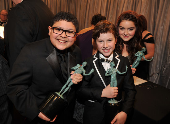 Rico Rodriguez, Nolan Gould, and Ariel Winter