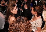 Angelina Jolie and Maya Rudolph chatted.