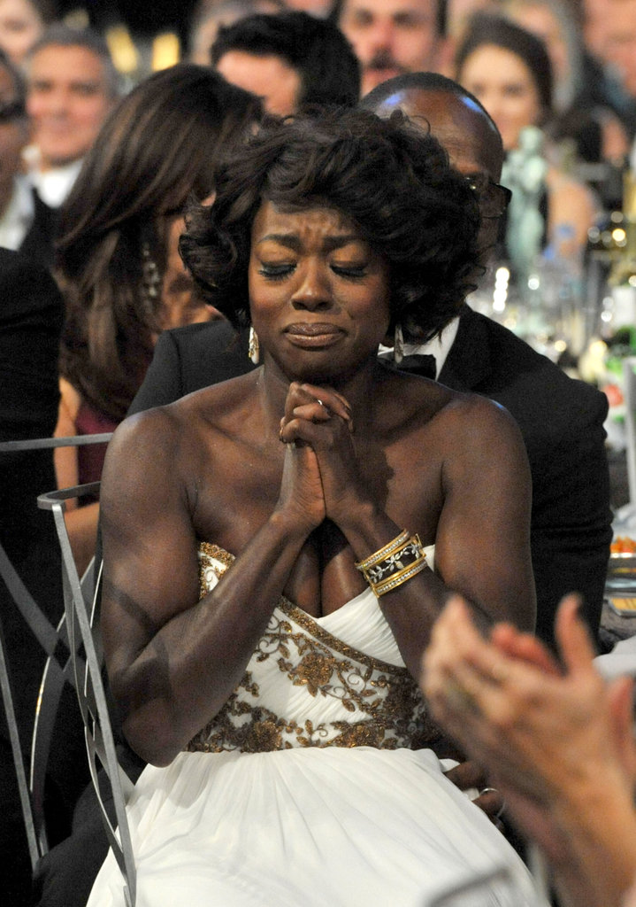 Viola Davis heard her name announced.