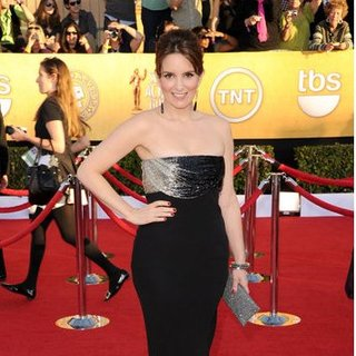 Tina Fey Pictures at the SAG Awards 2012