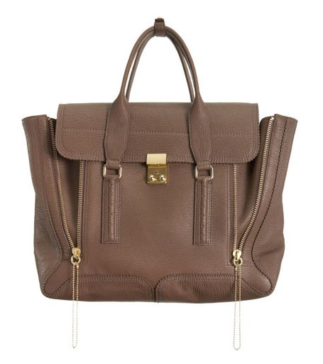 Phillip Lim's Pashli satchel is a gorgeous carry-all that can hold notes, an iPad, schedules, and more without skimping on style. Plus, it goes with everything.  3.1 Phillip Lim Pashli Satchel ($895)