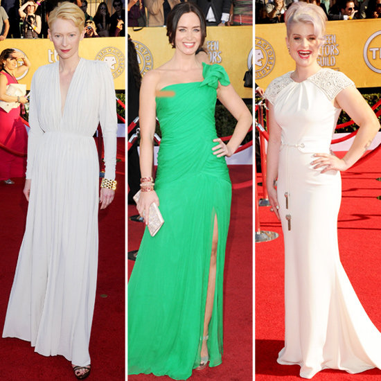 Tilda Swinton, Kelly Osbourne, Emily Blunt at the SAG Awards 2012