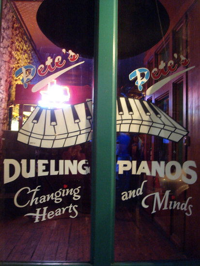 Head to a Piano Bar