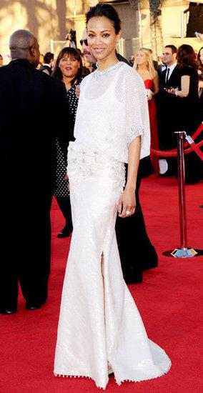 Zoe Saldana(2012 Sag Awards)