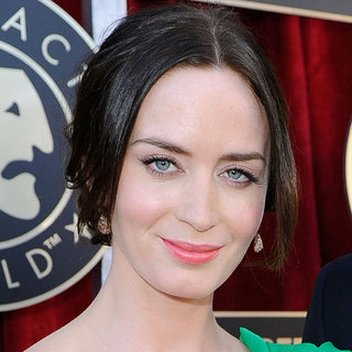 Emily Blunt's Hair and Makeup at the 2012 SAG Awards
