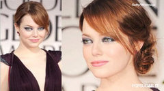 Recreate Emma Stone's Sultry Golden Globes Eye Makeup