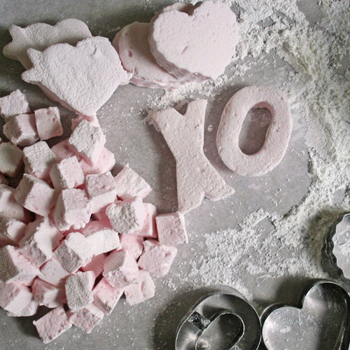 Rose Marshmallows