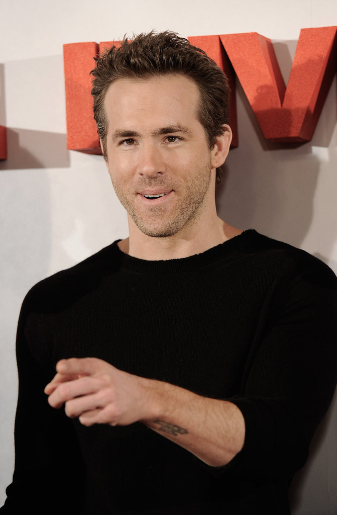 Ryan Reynolds gave a shout-out to the press group.
