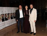Michael Fassbender, Keira Knightley, and Viggo Mortensen showed off A Dangerous Method.
