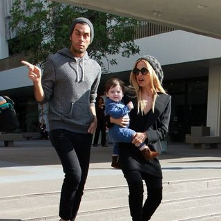 Rachel Zoe and Son Skyler Berman With Joey Maalouf Pictures