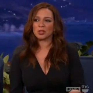 Maya Rudolph Recounts Meeting Brad Pitt and Angelina Jolie at SAG Awards on Conan