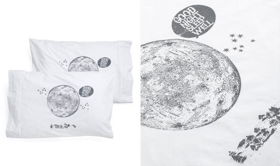 Lunar Pillowcases ($33)