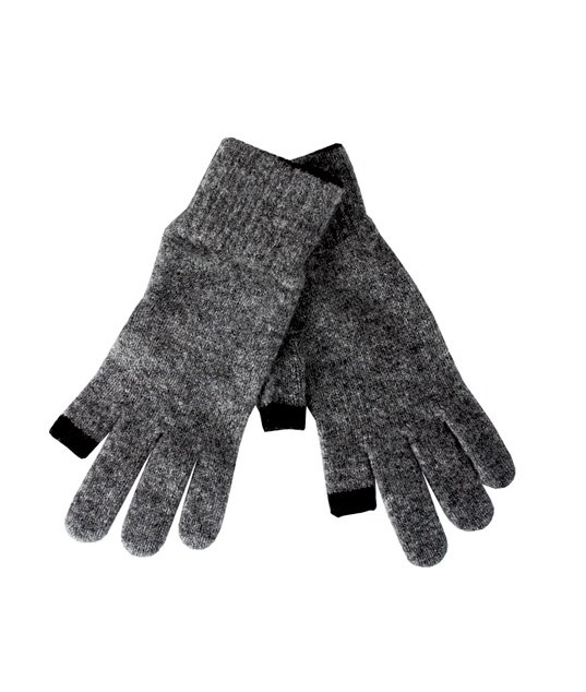 The charcoal trim is a subtle detail that we're currently loving on this pair. Etre Touchy Gloves in Gray With Charcoal ($55)