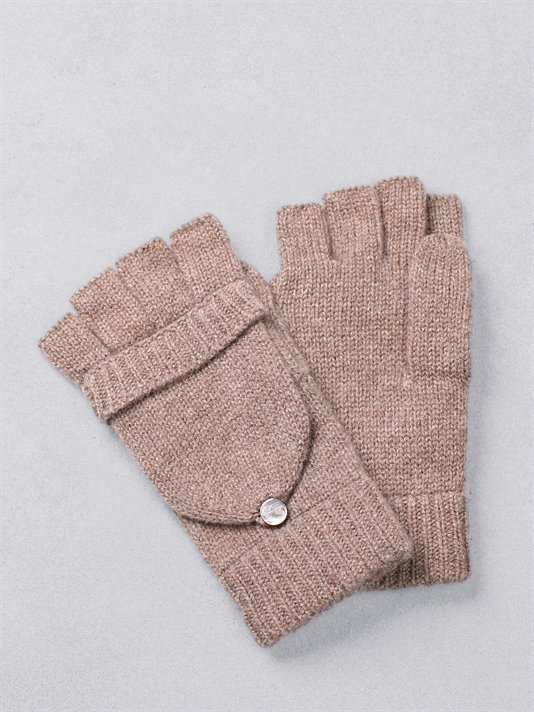 If you have to wear gloves to keep warm, you may as well make it a comfy experience — with this cashmere texting version. DKNY Cashmere Pop Top Texting Glove ($40)