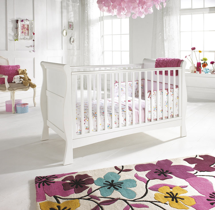 Pink and White Nursery