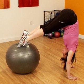 Advanced Exercise Ball Moves