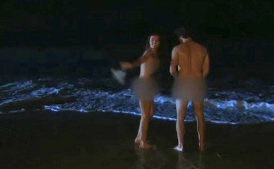 Bachelor Ben Goes Skinny-Dipping With Model Courtney