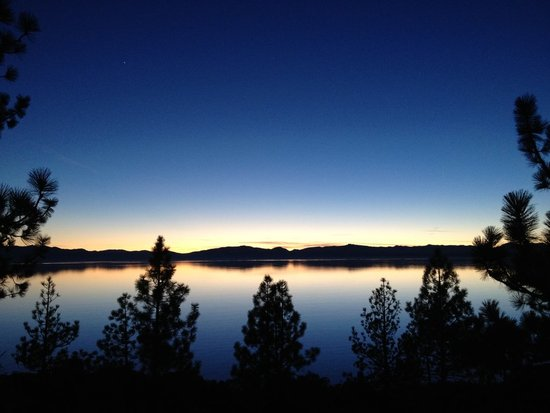 Lake Tahoe Sunset - 2012