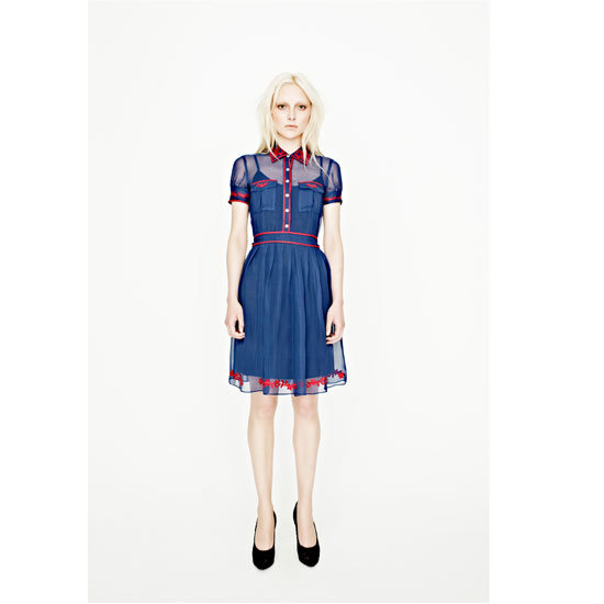 Silky Salsa Short Sleeve Embroidered Dress, $349.