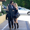 Rachel McAdams and Michael Sheen Pictures in LA
