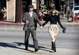 Rachel McAdams and Michael Sheen went for a day date.