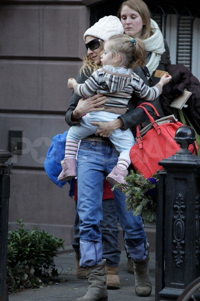 Sarah Jessica Parker and daughter Loretta Broderick were with James Wilkie Broderick.
