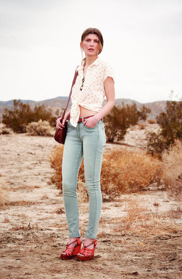 Club Monaco's Early Summer 2012 Lookbook