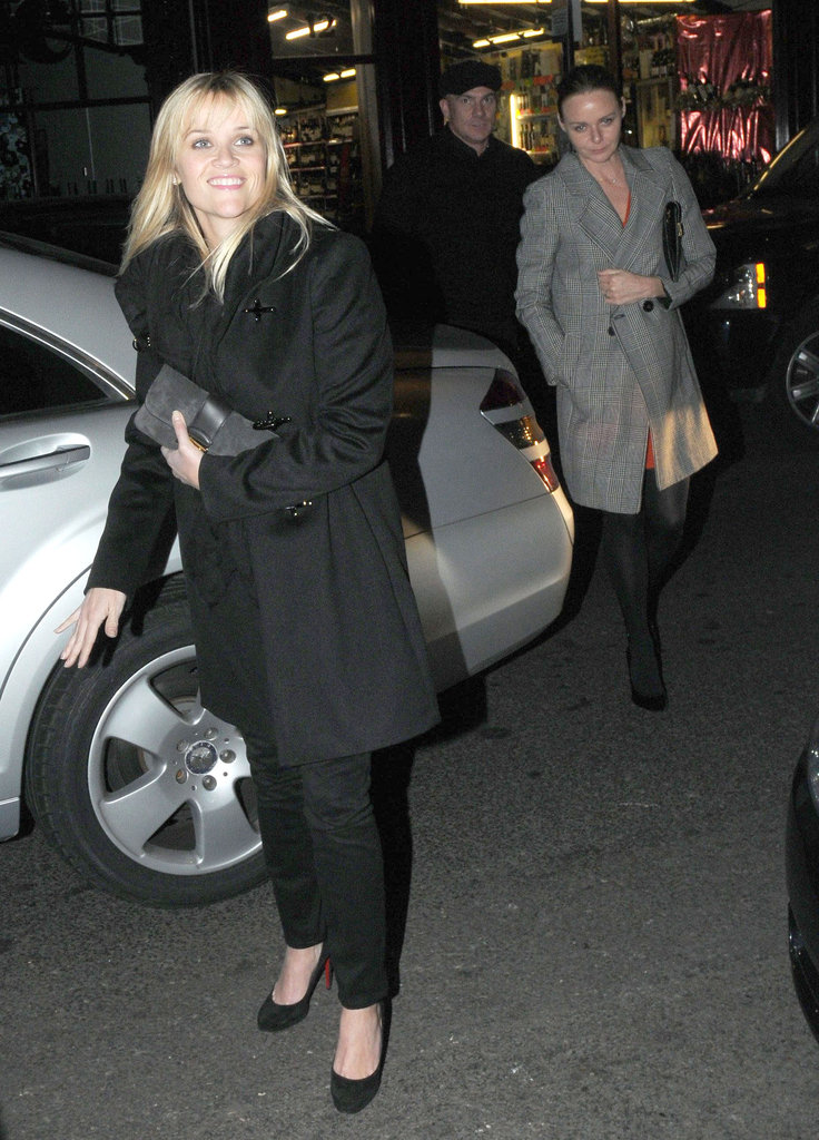Reese Witherspoon and Stella McCartney headed into The Arts Club.
