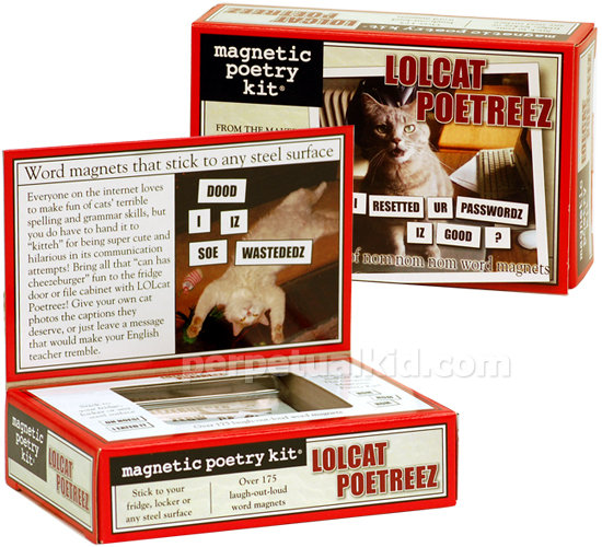 LOLCAT Magnetic Poetreez Kit ($12)