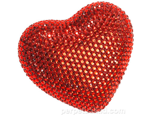 Bling Heart Paperweight ($15)