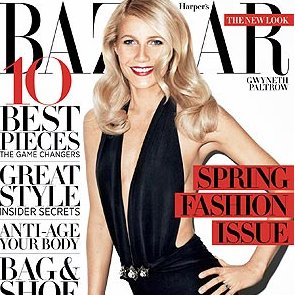 Gwyneth Paltrow in Harper's Bazaar March 2012