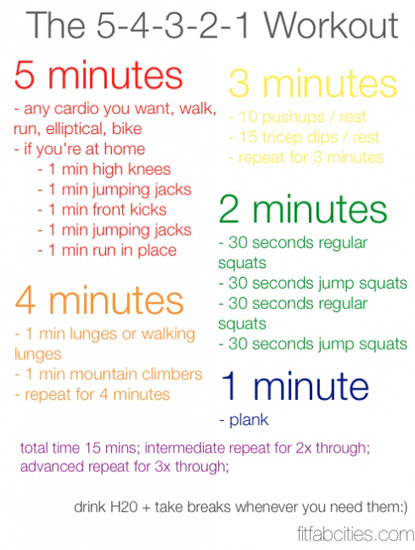 Reader FitFabCities has a simple 15-minute workout for you — no ...